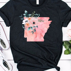 Arkansas Home State Shirt - The Artsy Spot