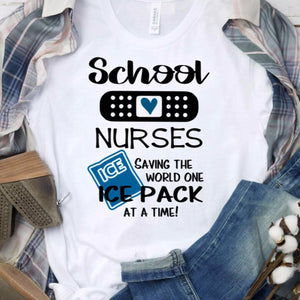 Funny School Nurse Shirt - The Artsy Spot