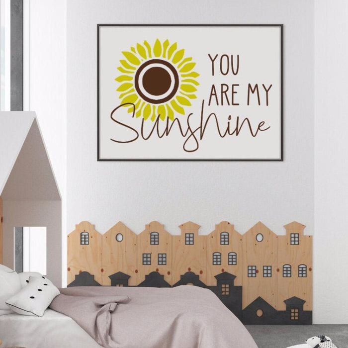 You are my Sunshine, Sunflower Poster