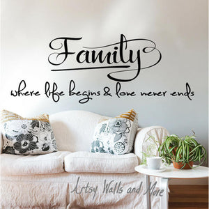 Family...Where Life Begins and Love Never Ends - The Artsy Spot