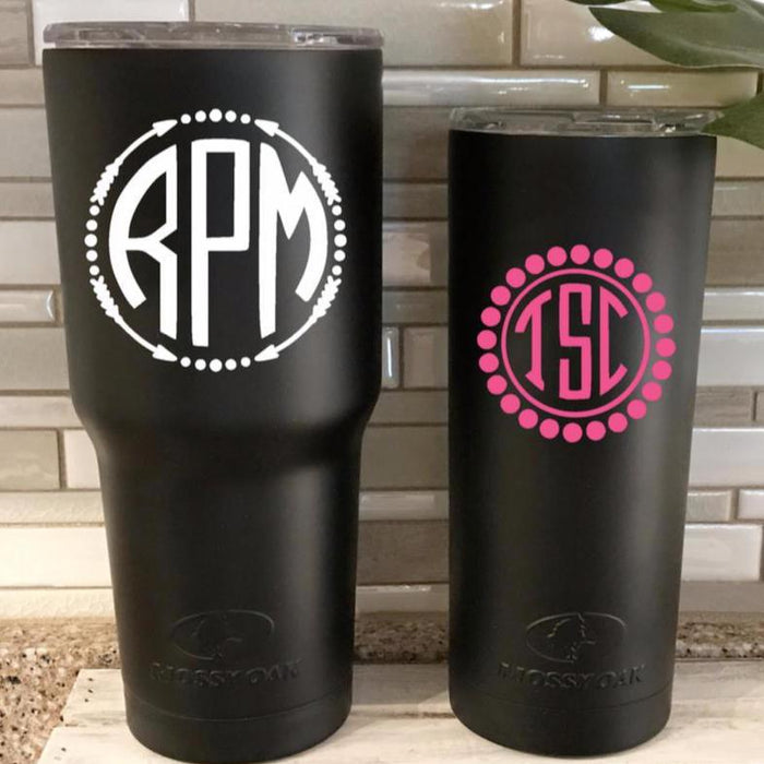 Monogram Personalized Tumbler