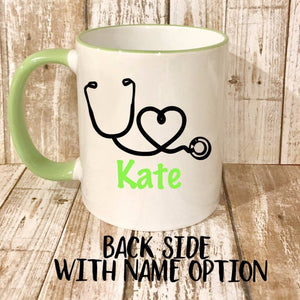 Caffeine PO Q4H PRN Personalized Nurse Mug - The Artsy Spot