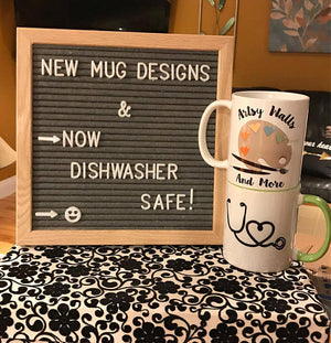 Mugs are dishwasher safe