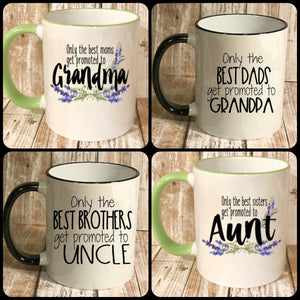 Baby Reveal Coffee Mug gifts, Gender Reveal gifts - The Artsy Spot