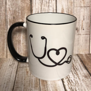 Caffeine PO Q4H PRN Coffee Mug - The Artsy Spot