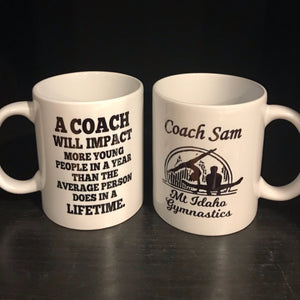 Coach Quote Coffee Mug - The Artsy Spot