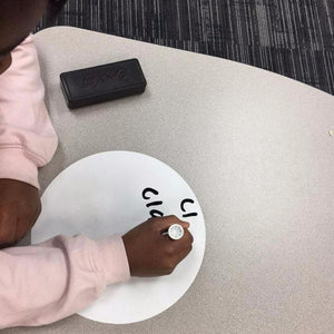 Dry Erase Circles decals for classroom - The Artsy Spot