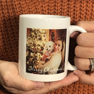 Custom Photo Coffee Mug - The Artsy Spot