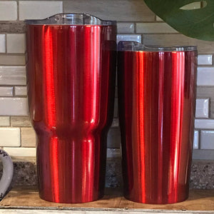 Red Tumblers, 30 oz and 20 oz