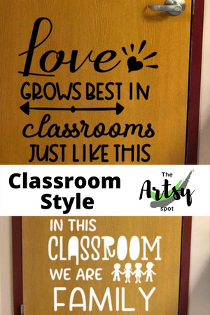 In This Classroom We Are Family decal, Pinterest image