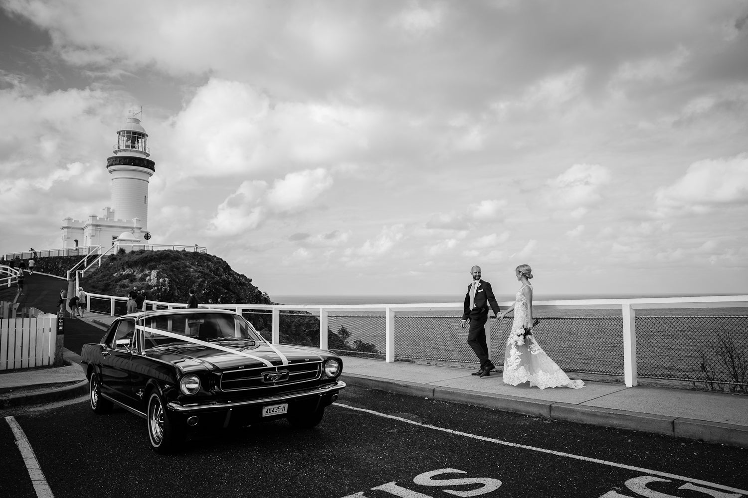 byron bay wedding lighthouse