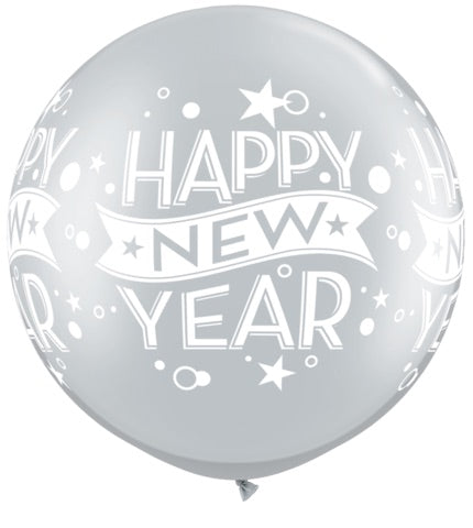 Giant Happy New Year Balloon
