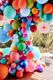 [INFLATED] Balloon Garland Installation