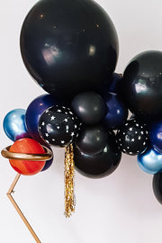DIY Balloon Garland Kit - Starry Night (navy, black) - [Bang Bang Balloons Byron Bay]