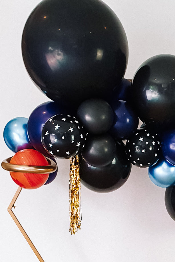 DIY Balloon Garland Kit - Starry Night (navy, black) - Bang Bang Balloons