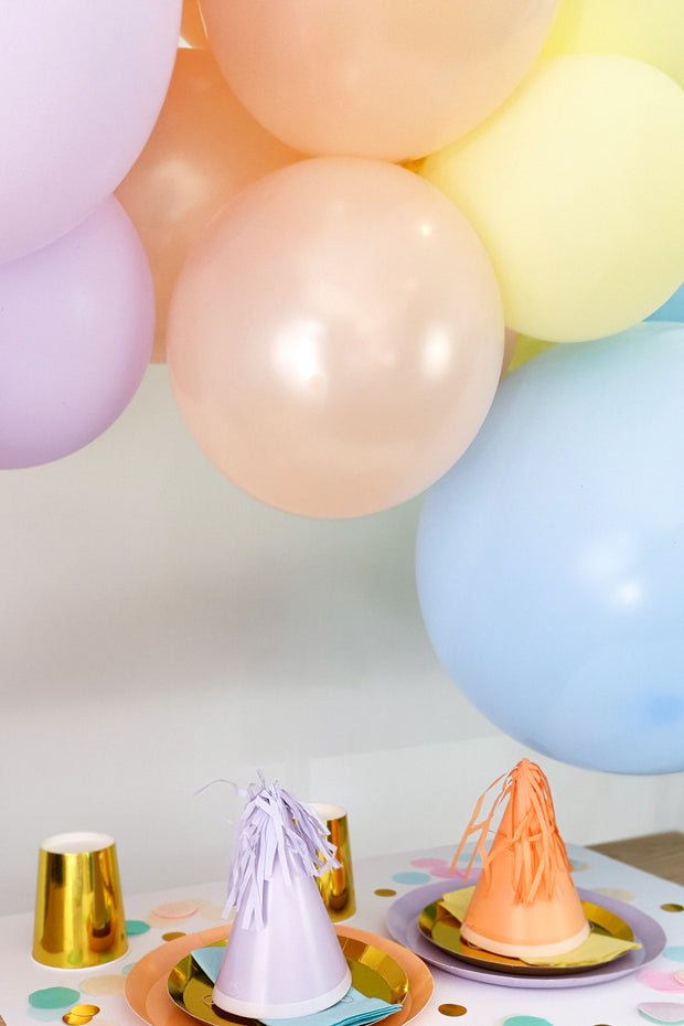 DIY Balloon Garland Kit - Sorbet (Pastel Rainbow) - [Bang Bang Balloons Byron Bay]