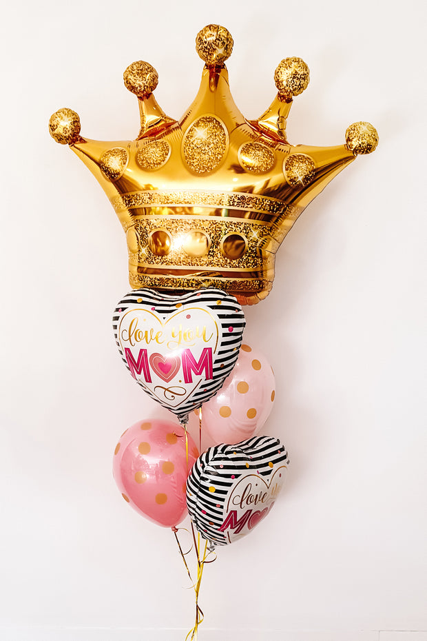 [INFLATED] Mum Queen - [Bang Bang Balloons Byron Bay]