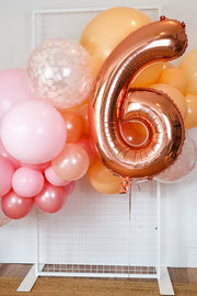 [INFLATED] Birthday Balloon Garland - Pick Up/Delivered - [Bang Bang Balloons Byron Bay]
