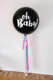 [INFLATED] Gender Reveal Balloon - [Bang Bang Balloons Byron Bay]