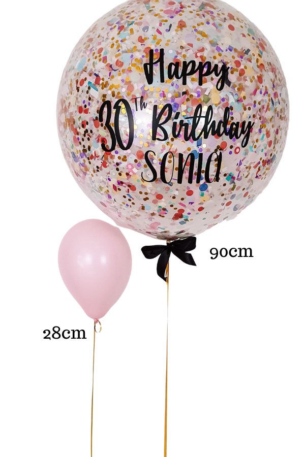 [INFLATED] Giant Solid Colour Balloons + TEXT