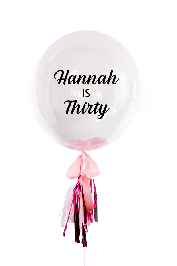 [INFLATED] Birthday Bubble - Bang Bang Balloons