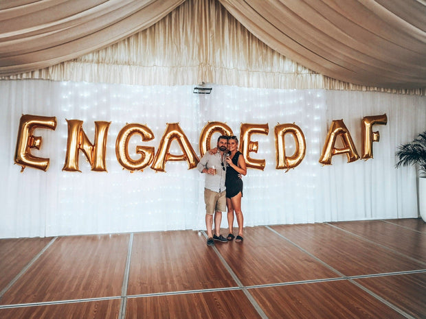[INFLATED] Custom Giant Letters - [Bang Bang Balloons Byron Bay]