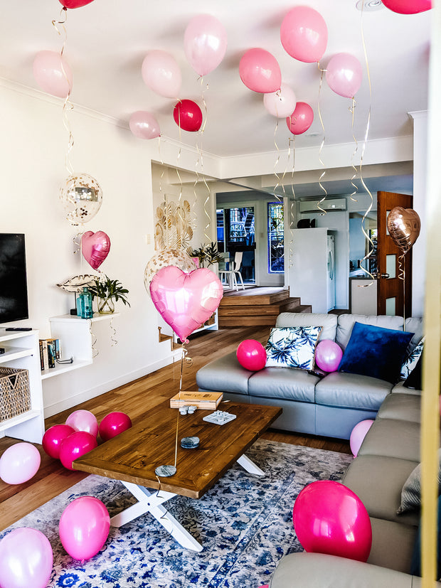 [INFLATED] Deluxe Room Setup - [Bang Bang Balloons Byron Bay]