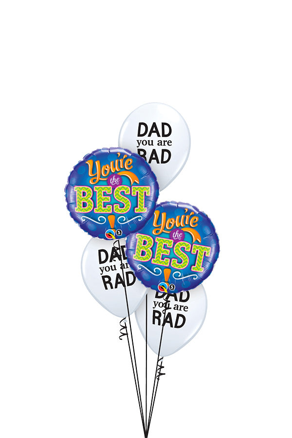 [INFLATED] Mini Father's Day Bouquet | Rad