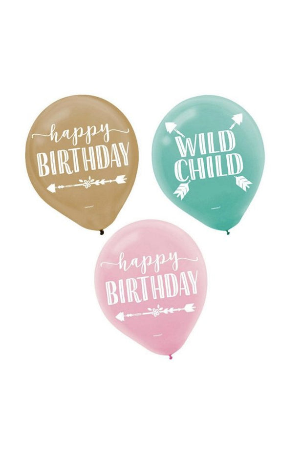 Balloon Packs - Wild Child - [Bang Bang Balloons Byron Bay]