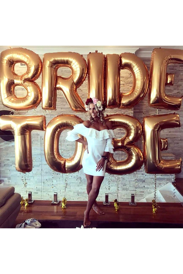 [INFLATED] Wifey/Bride to Be - [Bang Bang Balloons Byron Bay]