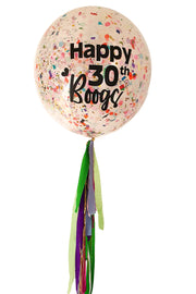[INFLATED] Giant Confetti Balloon - Bang Bang Balloons