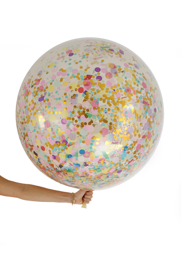 Giant Balloons - Celebration Confetti - [Bang Bang Balloons Byron Bay]