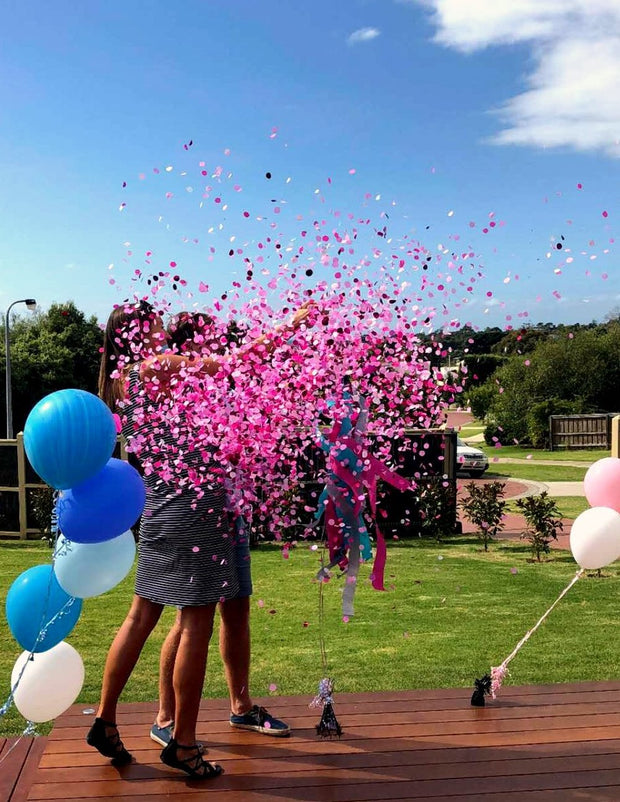 [INFLATED] Gender Reveal Balloon - Bang Bang Balloons