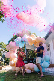 Gender Reveal Cannon - It's a girl (Pink)