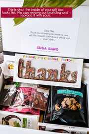 Suga Bang - Celebration Box - Corporate Gift - [Bang Bang Balloons Byron Bay]