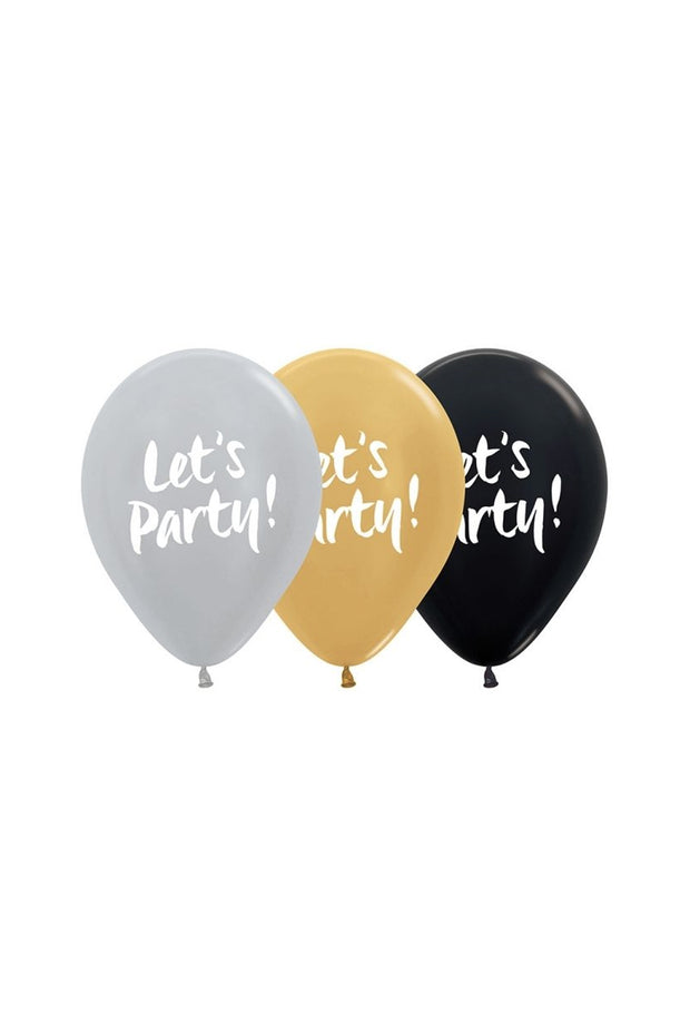 Balloon Packs - Let's Party - Bang Bang Balloons