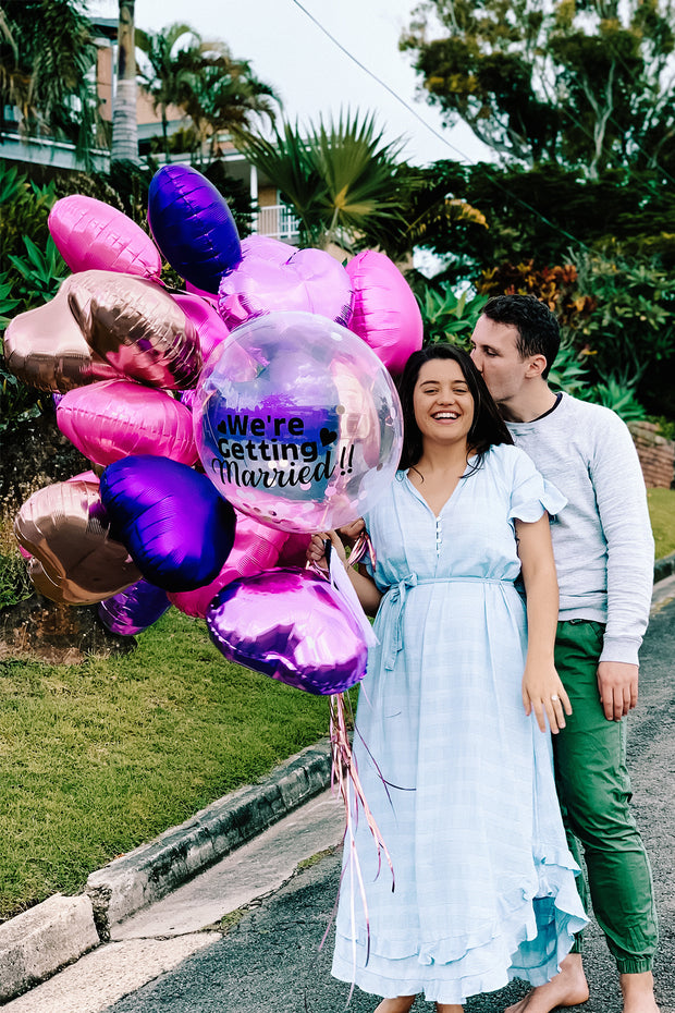 [INFLATED] Engagement Bubble - Bang Bang Balloons