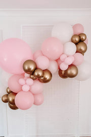 [INFLATED] Birthday Balloon Garland - Pick Up/Delivered