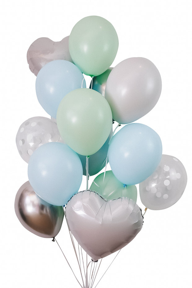 Balloon Packs - Minty - [Bang Bang Balloons Byron Bay]