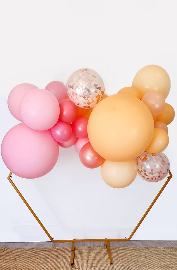 DIY Balloon Garland Kit - Peachy (Pink, Peach) - [Bang Bang Balloons Byron Bay]