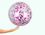 Giant Balloons - Custom Confetti Colour - Bang Bang Balloons