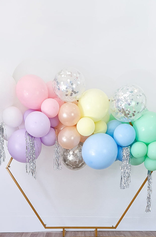 DIY Balloon Garland Kit - Sorbet (Pastel Rainbow) - Bang Bang Balloons