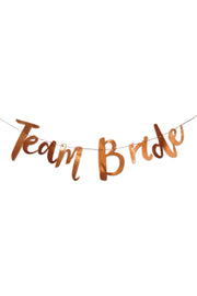 Team Bride Banner - [Bang Bang Balloons Byron Bay]
