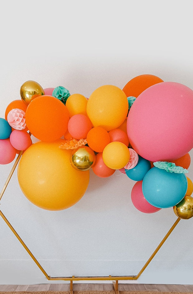 DIY Balloon Garland Kit - Tutti Frutti (bright rainbow) - [Bang Bang Balloons Byron Bay]