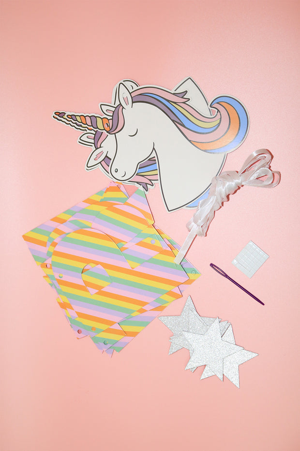 Happy Birthday Unicorn Banner - [Bang Bang Balloons Byron Bay]