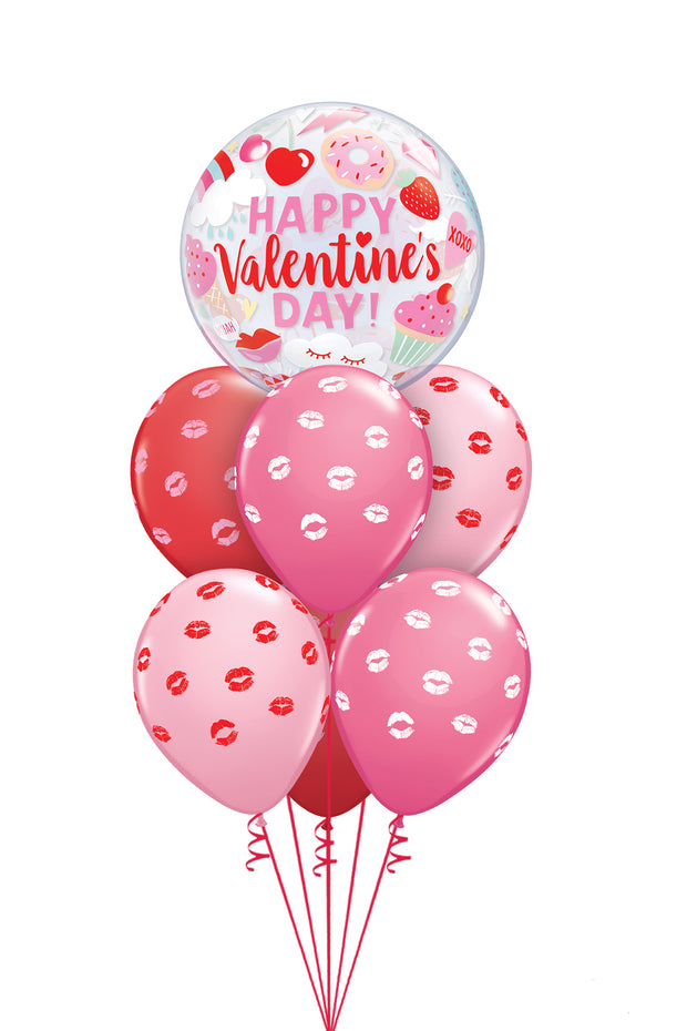 [INFLATED] Valentine's Bubble Bouquet - [Bang Bang Balloons Byron Bay]