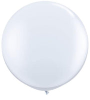 [INFLATED] Giant NYE plain colour balloon - [Bang Bang Balloons Byron Bay]