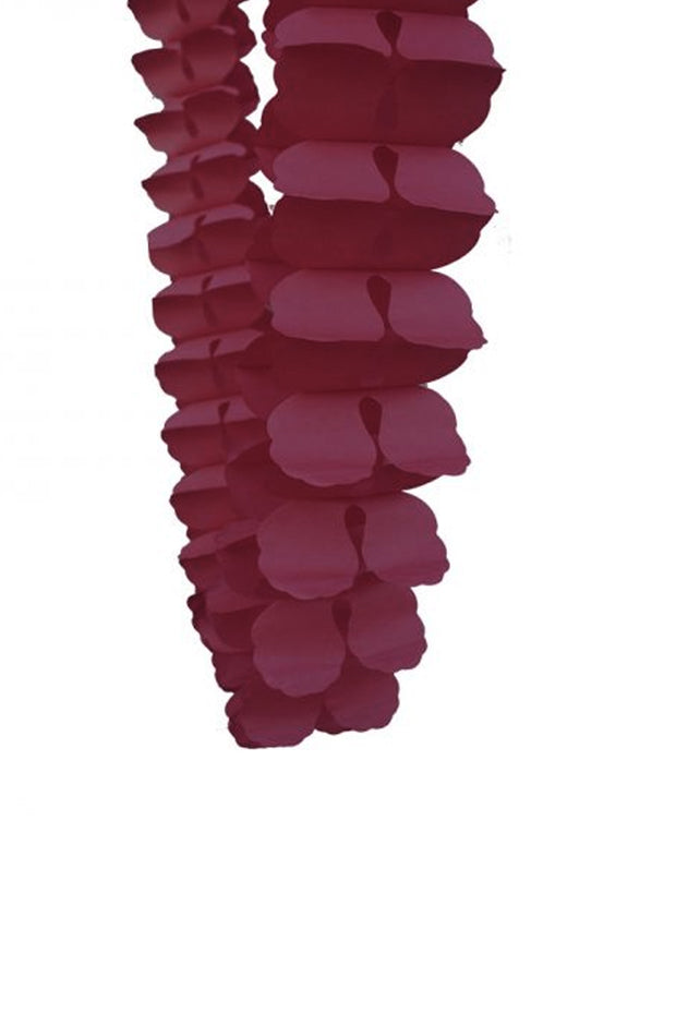 4m Honeycomb Garland - Wildberry - Bang Bang Balloons