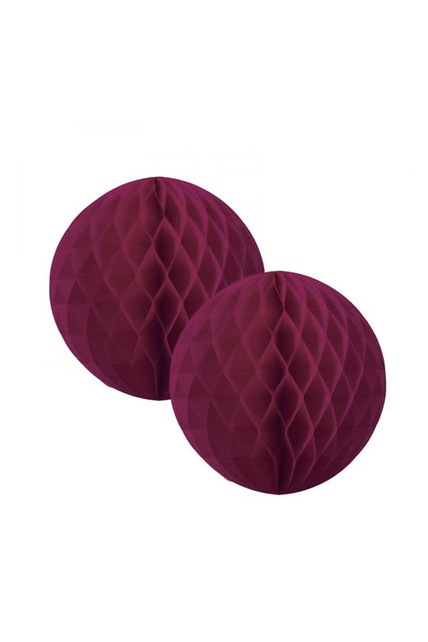 15cm Honeycomb Balls - Wildberry - Bang Bang Balloons