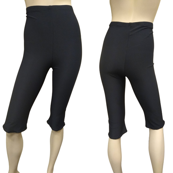 The VM High Waisted Capris Leggings